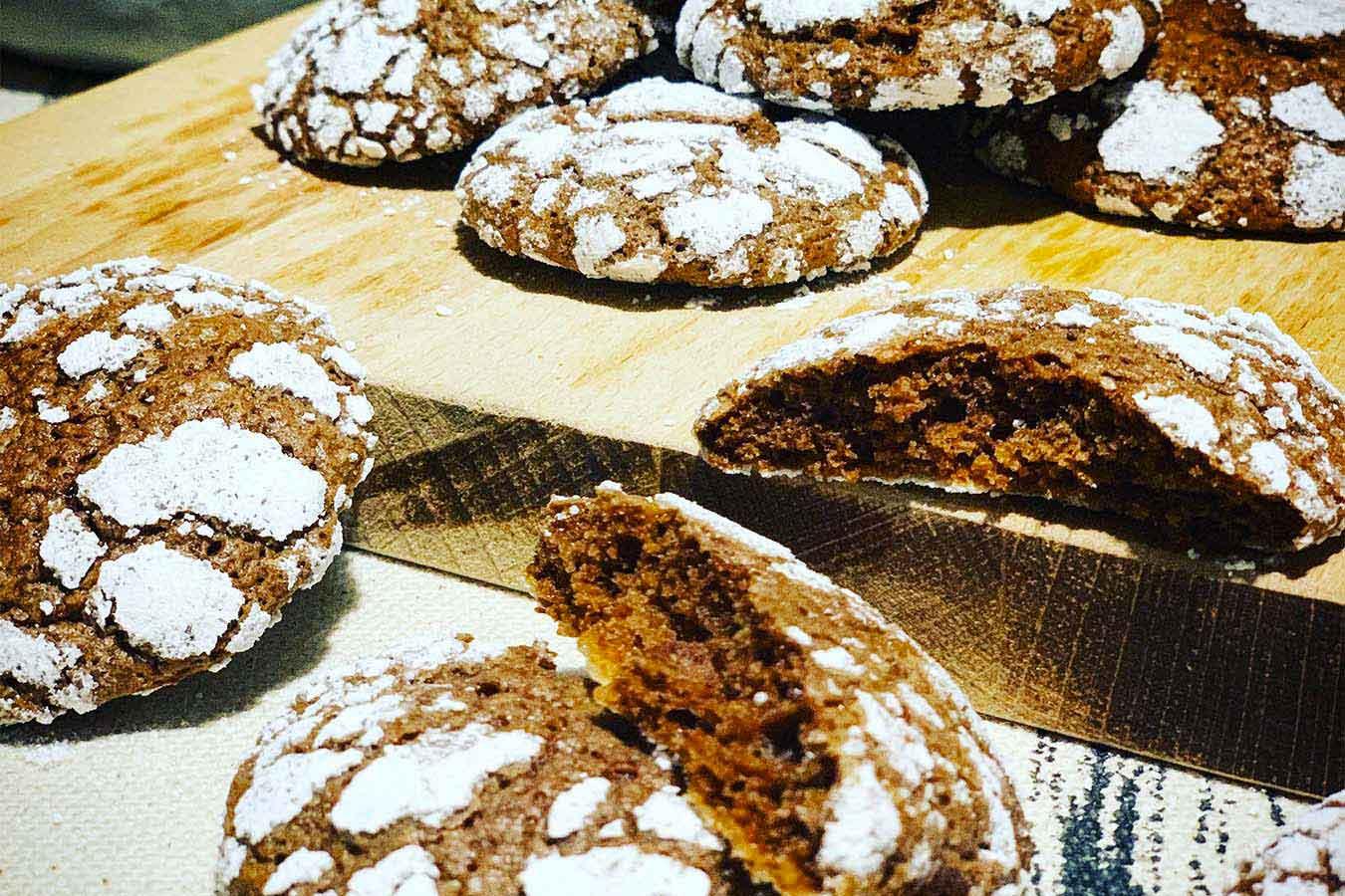 Biscottini morbidi al Cioccolato