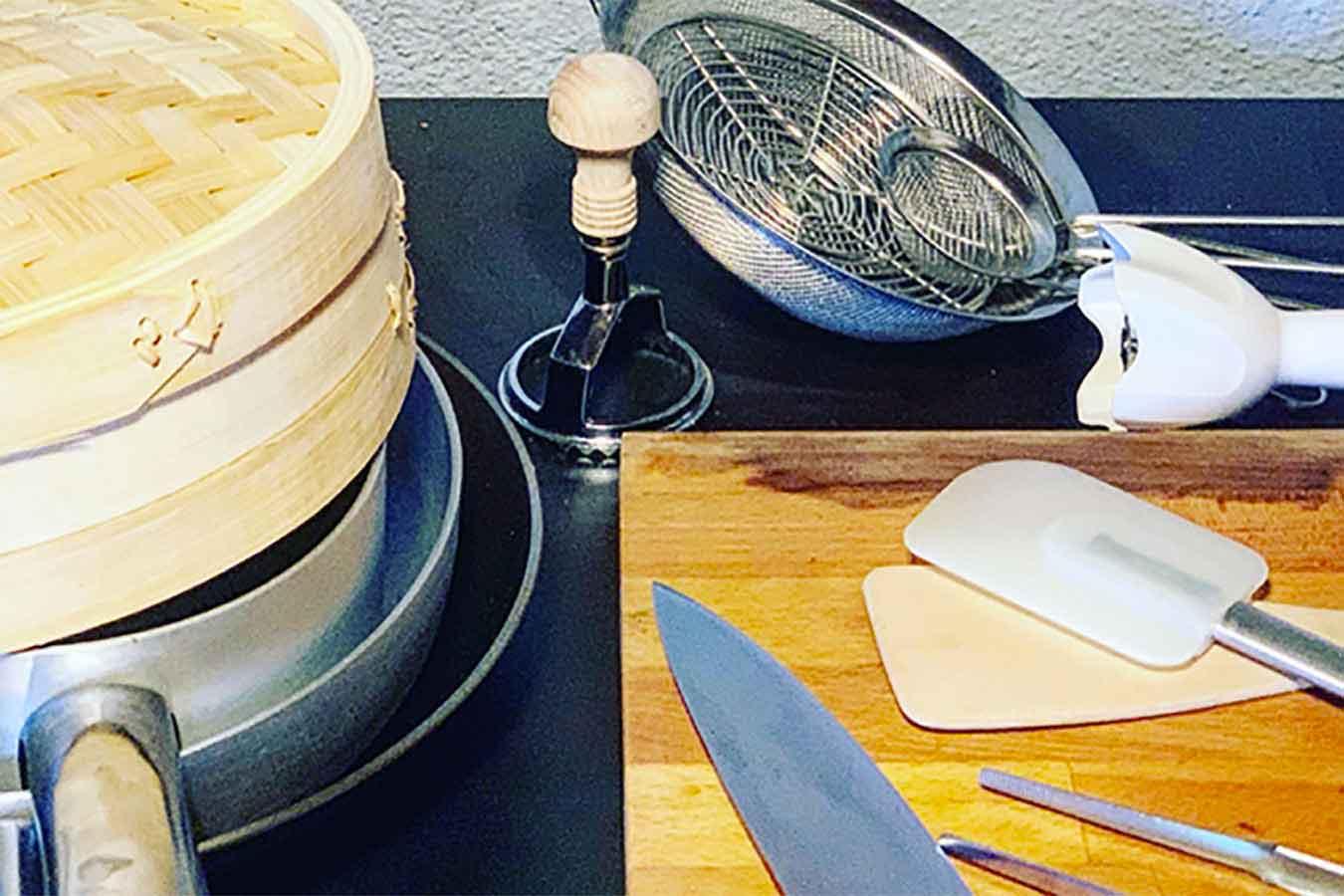 10 utensili da cucina indispensabili per preparazioni rock