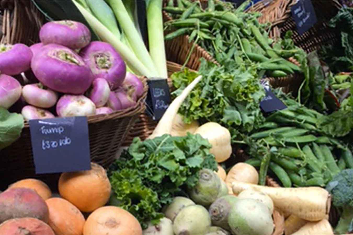 Food markets a Londra