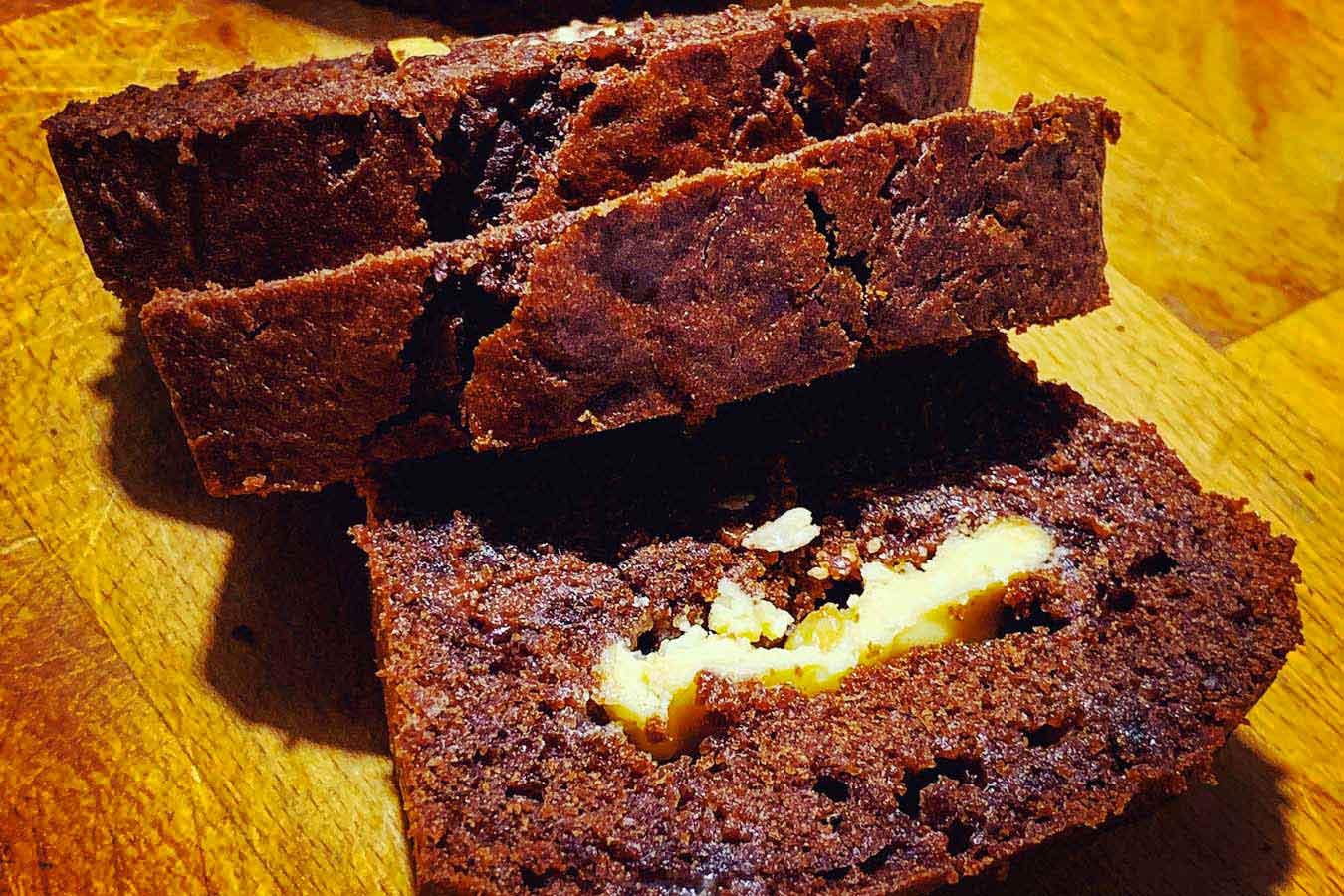 Plumcake al Doppio Cioccolato