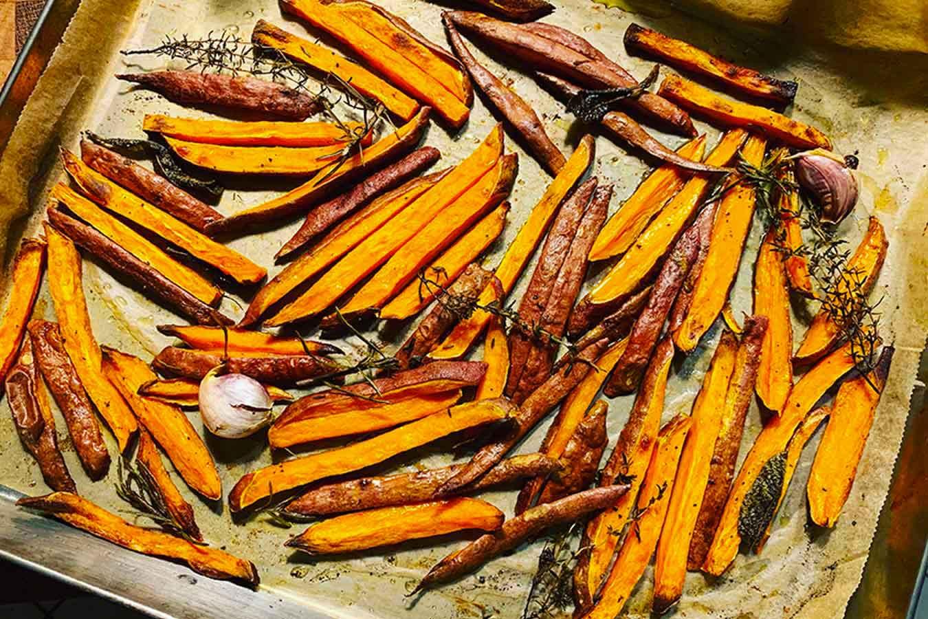 Sweet Potatoes al forno