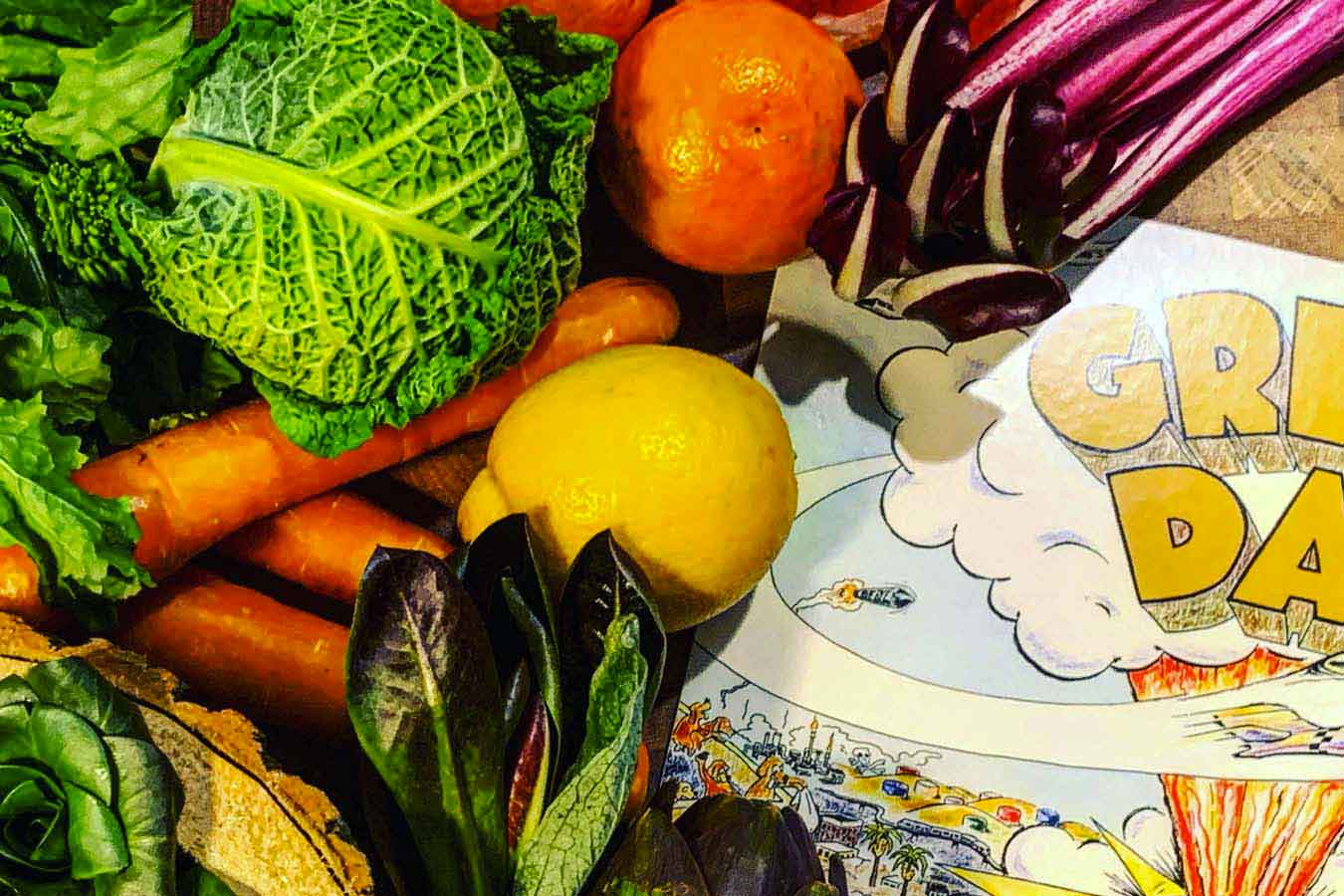 Le stagioni in tavola: Inverno. Frutta, ortaggi di stagione