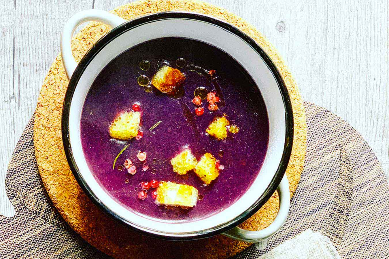 Zuppa di Carote Viola